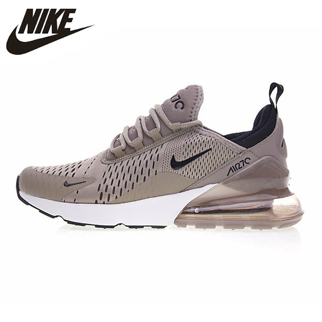 uk availability 1c1c6 49599 Nike Air Max 270 Men s Running Shoes ,Original Sports Outdoor Sneakers Shoes,  Green Grey, Breathable AH8050-010 AH8050-030