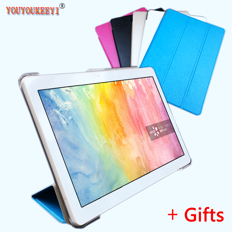 Thr-Folding Stand Cover Case For BEESITTO K102 10.1