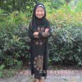 2016 Musulmanes se Leica sello flor del gancho túnica de gala de los niños blancos incluso adorar Hui nuevo abaya