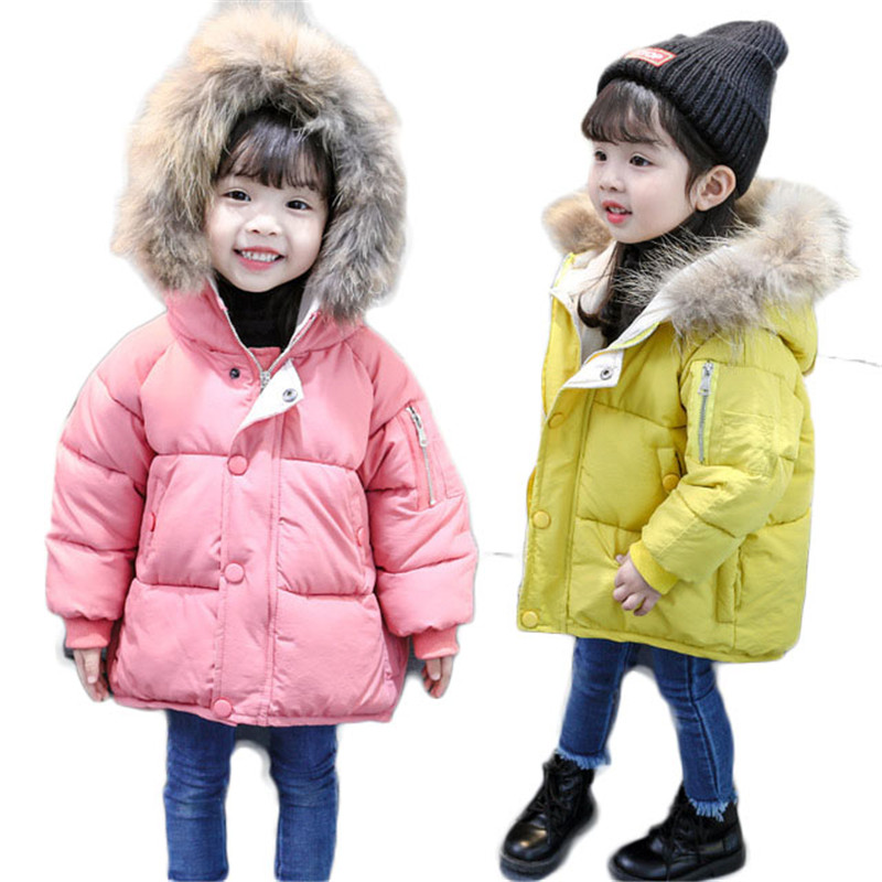 Winter Baby Girls Coat Kids Cotton Padded Clothes Children Clothing Infant Thick Warm Outerwear Girl Hooded Jackets Parkas G254 Winter Baby Girls Coat Kids Cotton Padded Clothes Children Clothing Infant Thick Warm Outerwear Girl Hooded Jackets Parkas G254