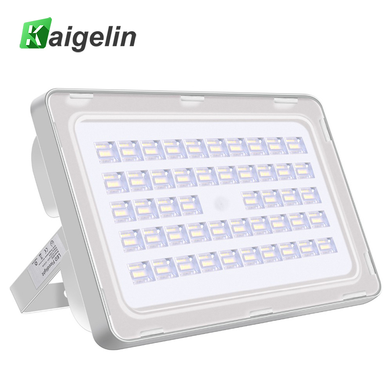 Kaigelin 150W LED Flood Light 220-240V 18000LM Waterproof Reflector Led Floodlight LED Spotlight Outdoor Wall Garden Lighting