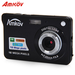 Amkov amk-cdc3 Камера S Цифровые камеры 2.7 ''TFT 8MP 9.5*6*2 см Поддержка прямой печати мини фото камера HD Камера