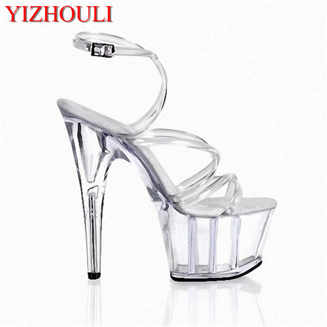 Concise Crystal Shoes