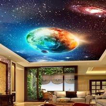 Custom 3D Photo Wallpaper Star Earth