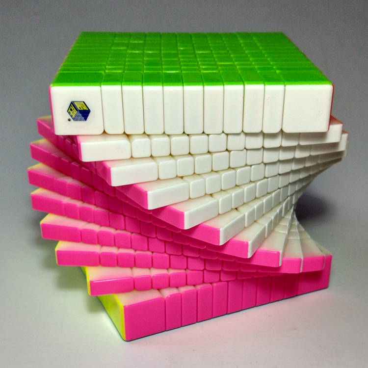 Nouveau Yuxin Huanglong 11x11x11 Cube Zhisheng vitesse Cube Puzzle torsion printemps Cubo Magico apprentissage éducation jouets magique livraison directe