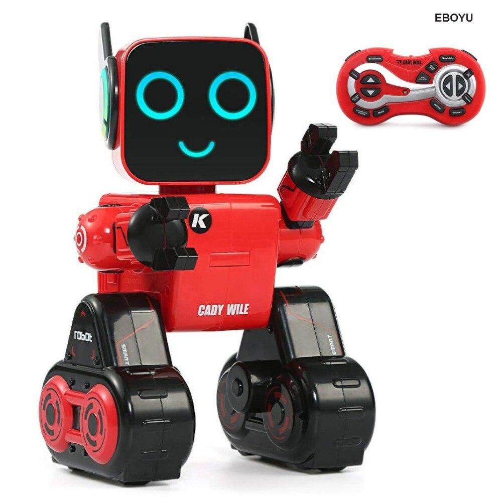 JJRC R4 CADY WILE 2.4G Intelligent télécommande Robot conseiller RC Robot jouet banque de pièces cadeau pour les enfants