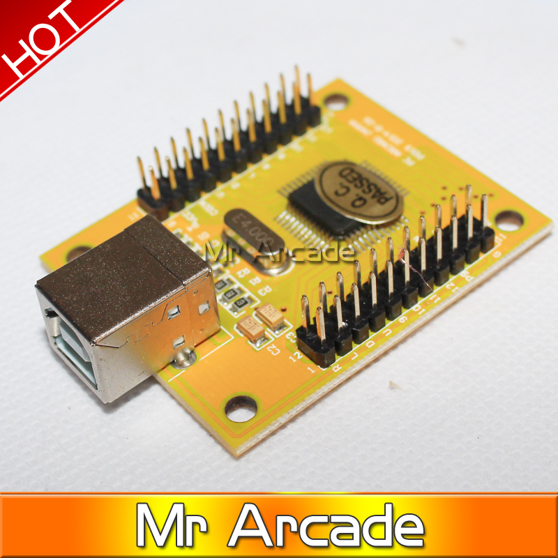 Arcade parts Bundles kit With American Joystick,button,2 players USB to jamma/PC board to DIY Arcade Machine By Yourself x 360 to arcade machine time board game kit for lcd arcade machine play for time x 360 s usb to jamma joystick and button