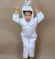 white rabbit cosplay for girls pink rabbit cosplay rabbit clothes for kids animal costume for children