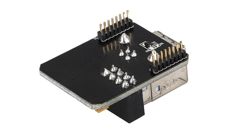 Lerdge X USB module detail 5