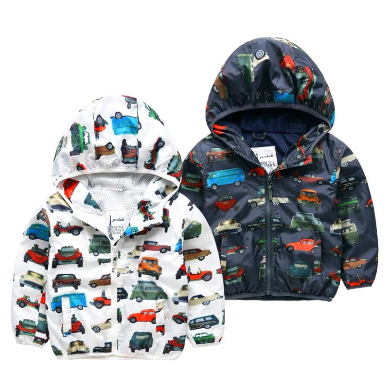 Wiosna i jesień nowa moda odzież dziecięca odzież wierzchnia - Ubrania dziecięce