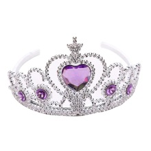Children Tiara Headwear Headband-Accessories Hairband Princess Crowns Girls Kids Cute
