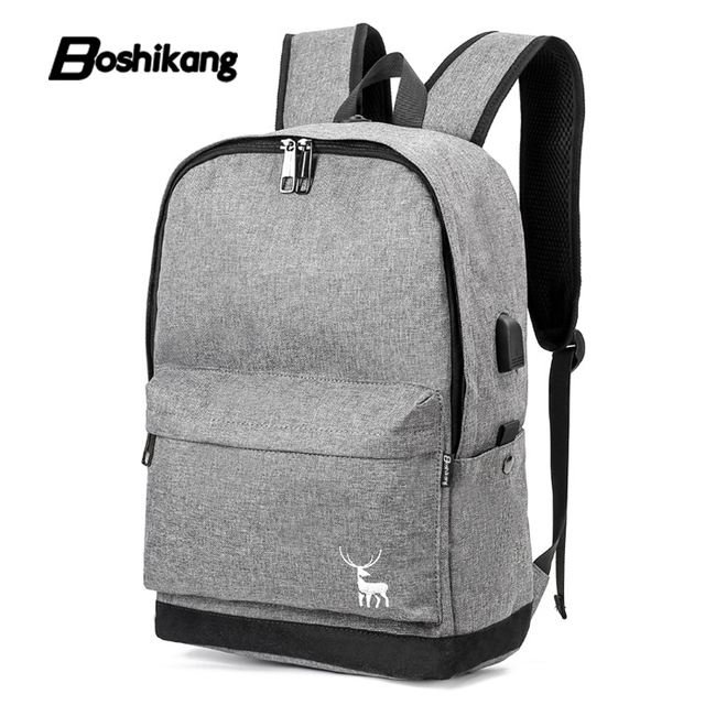 4c6194a75fc Boshikang Men Male Backpack College Student School Backpack Bags for  Teenagers Mochila Casual Rucksack Brand Travel Daypack