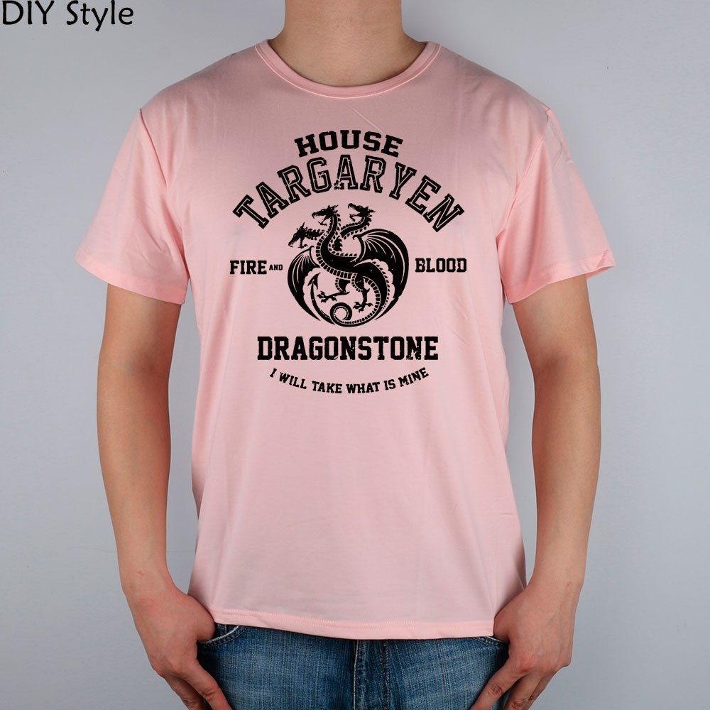 91a21f9af6f7f SX HOUSE TARGARYEN FIRE AND BLOOD DRAGONSTONE GAME OF THRONES T ...