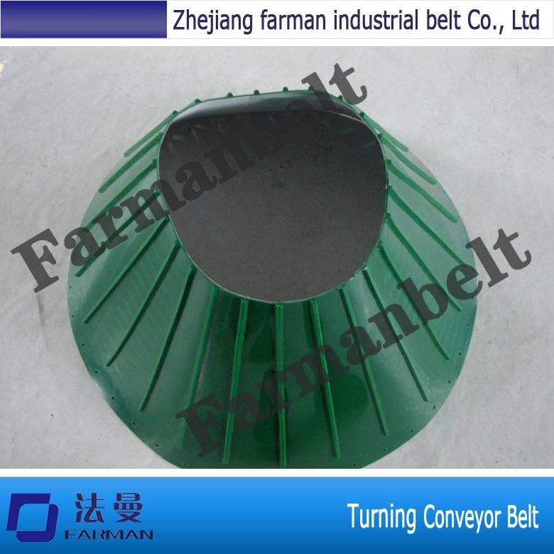 2017 Farman Turning Conveyor Belt For Industrial farman pvc conveyor belt thickness 1 5mm color green