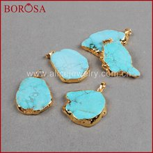 Borosa золото Цвет произвольной формы синий говлита каменный