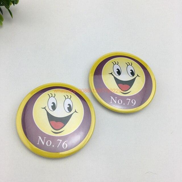 Pcs Usine Personnalisé Pin Badge Bouton Rond Badge Pour - Porte badge pas cher