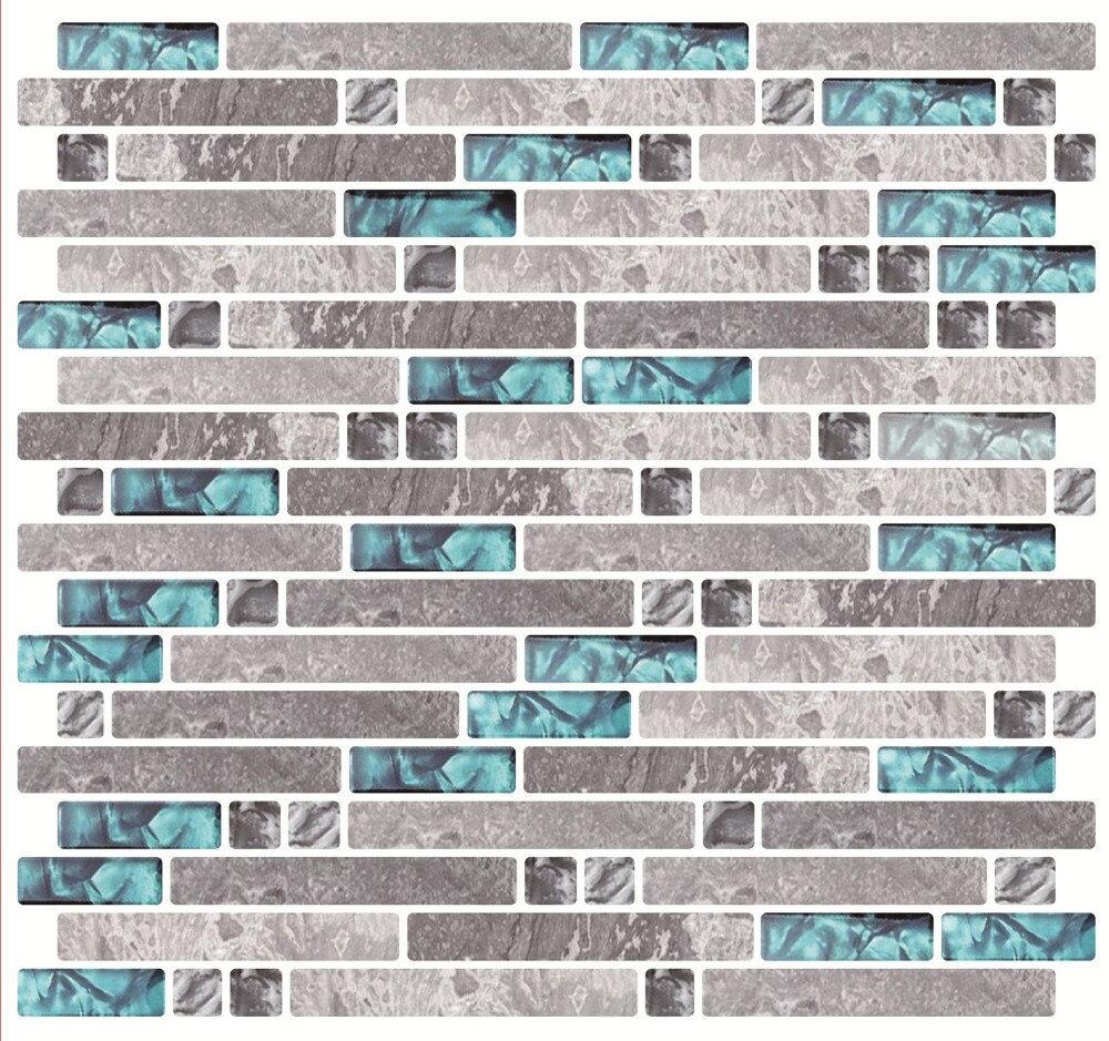popular kitchen backsplash tile stickers-buy cheap kitchen