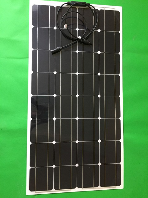 100w 12v semi flexible solar panels, emerging industrial products ...