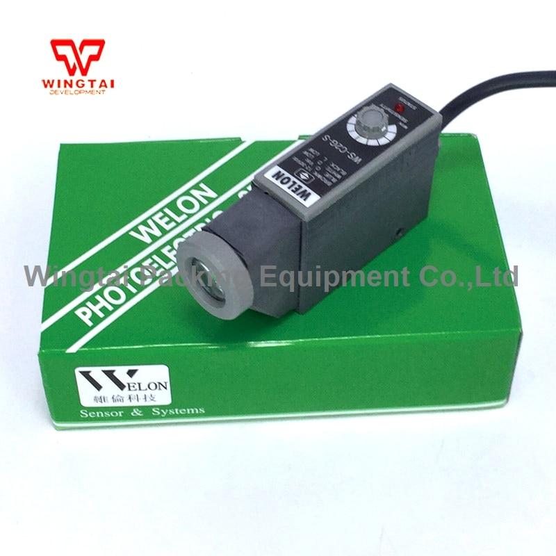 WS-C2G-S WELON Color Code Sensor/ Electric Eye Sensor/ WS Series Mark Sensors taiwan kontec ks c2g photoelectricity eye sensor green light