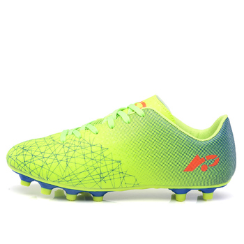 2018 WELIVENICE FG Unisex Football Shoes Outdoor Breathable Free Flexible Soccer Shoes Men And Women's Sneakers Size 36-45