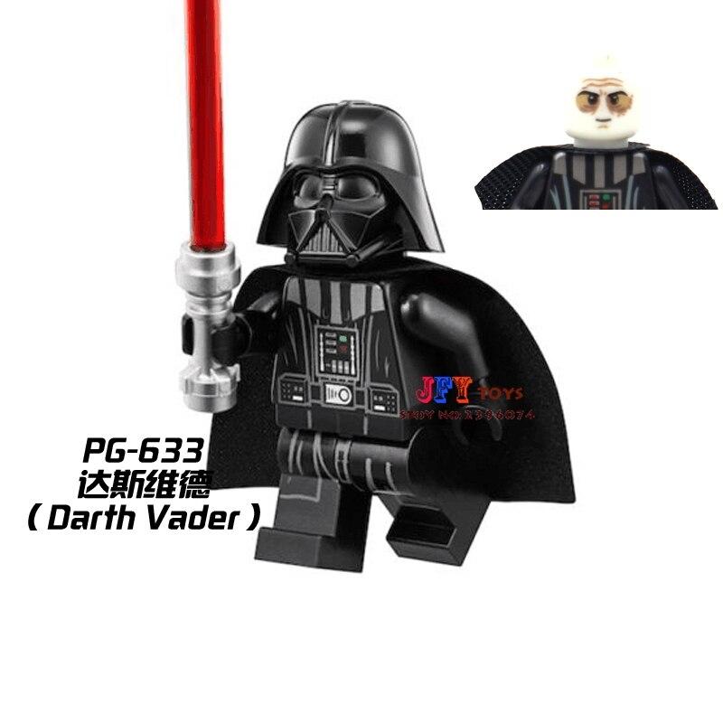 1pcs  Superhero Darth Vader Collection Building Blocks Model Bricks Toys For Children Classic Hobbies