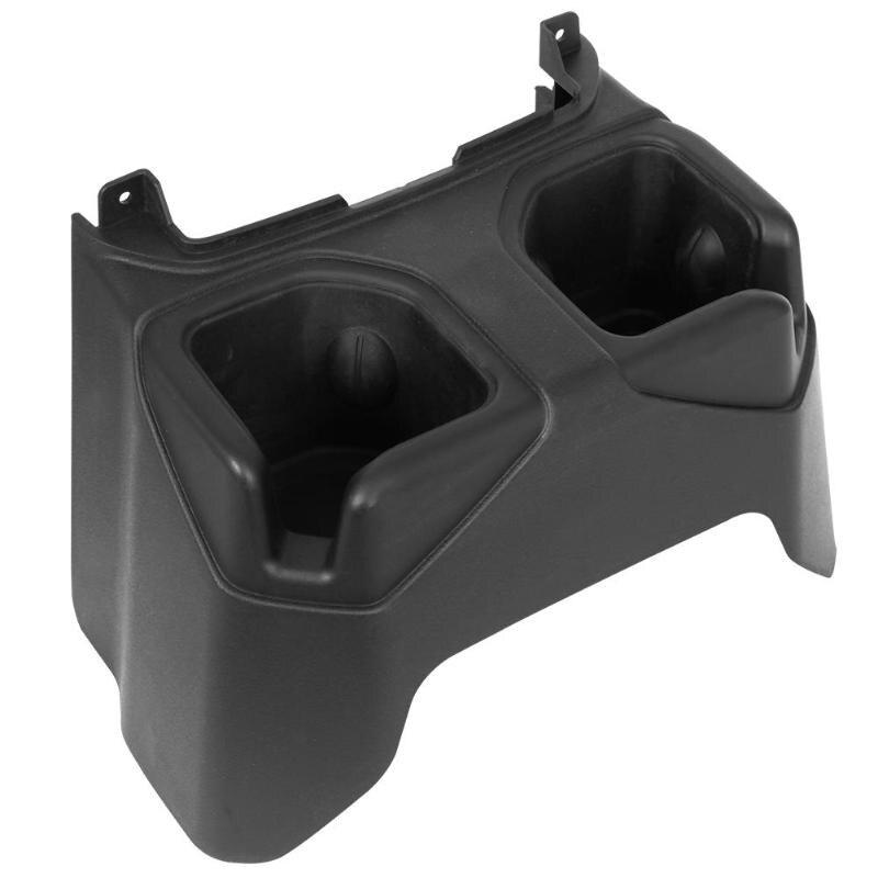 Console centrale arrière accoudoir boîte support de verre siège de voiture arrière boisson support de verre pour Jeep Wrangler JL 18-19