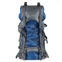 Backpack 60 l steel mountaineering bag large capacity of men and women waterproof outdoor camping hiking backpack to travel