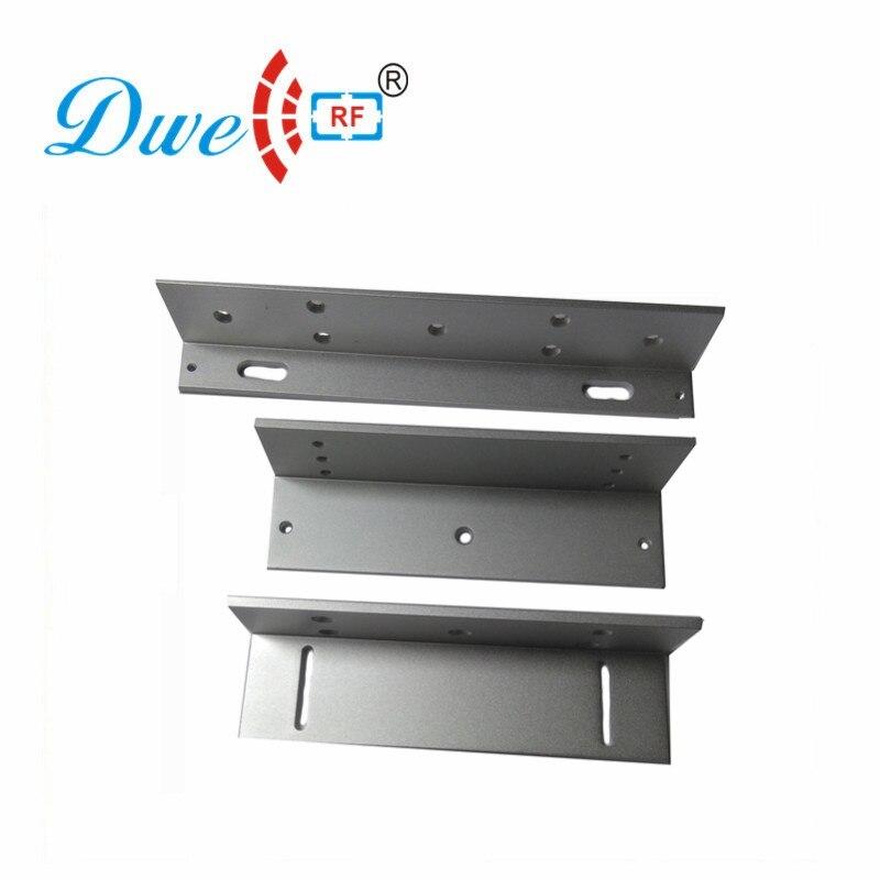 DWE CC RF electromagnetic lock mounting bracket ZL type bracket for 600lbs lock цена 2017