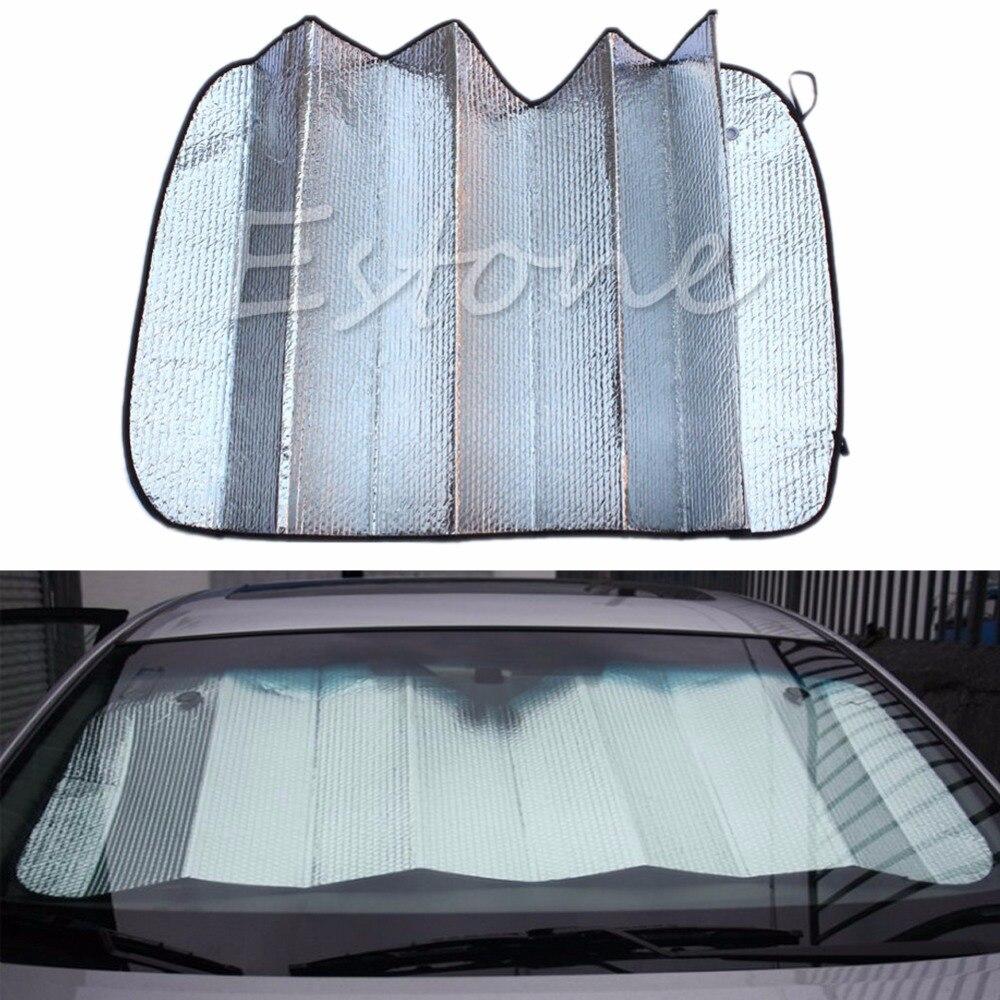 1PC New Foldable Auto Front Rear Window Sun Shade Car Windshield Visor Cover