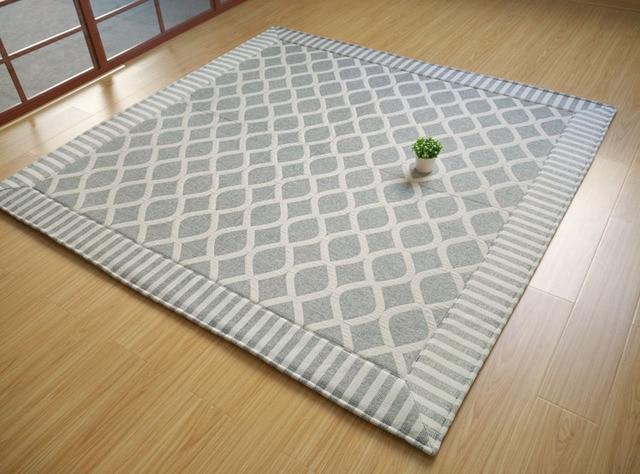 Japanese Floor Mattress Large 2 Size 180 240cm Kotatsu Futon Mat Portable Tatami Pad Fashion