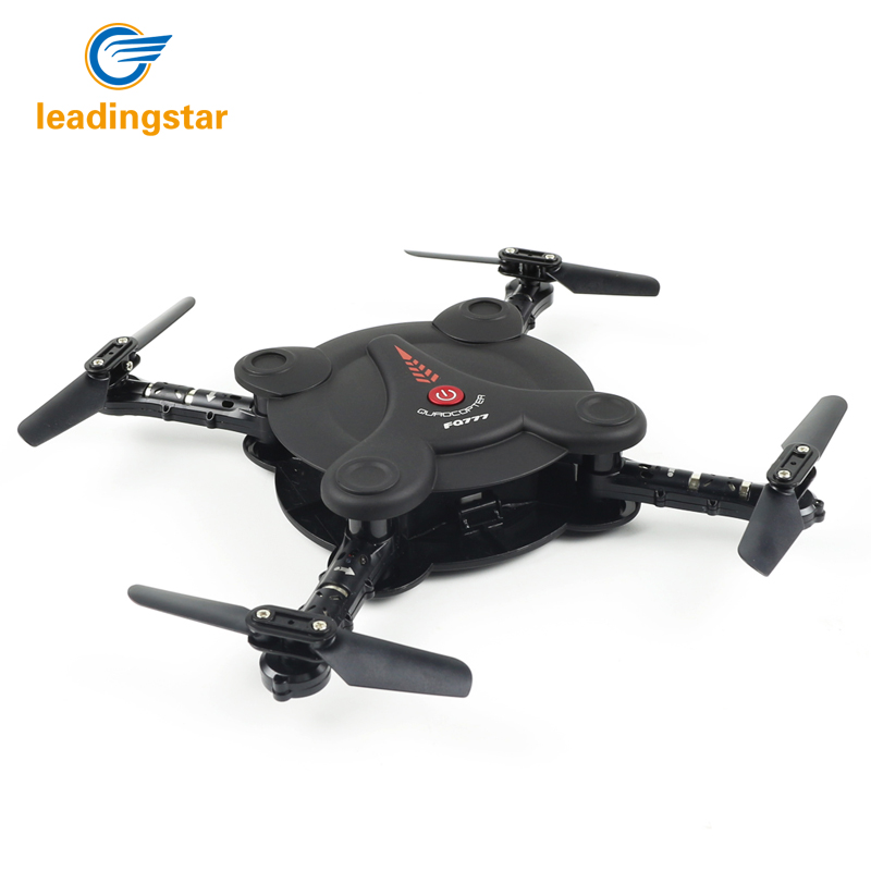 LeadingStar F17W RC Quadcopter Drone FPV Camera Live Video Foldable Aerofoils RTF Helicopter with 4 Channels 6-Axis Gyro ZK30 wireless video fpv rctransmitter receiver 5 8g 200mw 23dbm 8 channels for rc drone qav250 cctv camera video camera toy parts