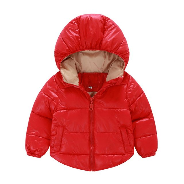 Winter Infant Hooded Jacket Children Baby Girls Boys Coat Clothing Snow Wear Warm Clothes Outwear