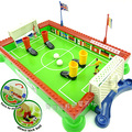 Plastic toy 1pc happy finger football field family soccer sport board little foosball game Early Development children baby gift