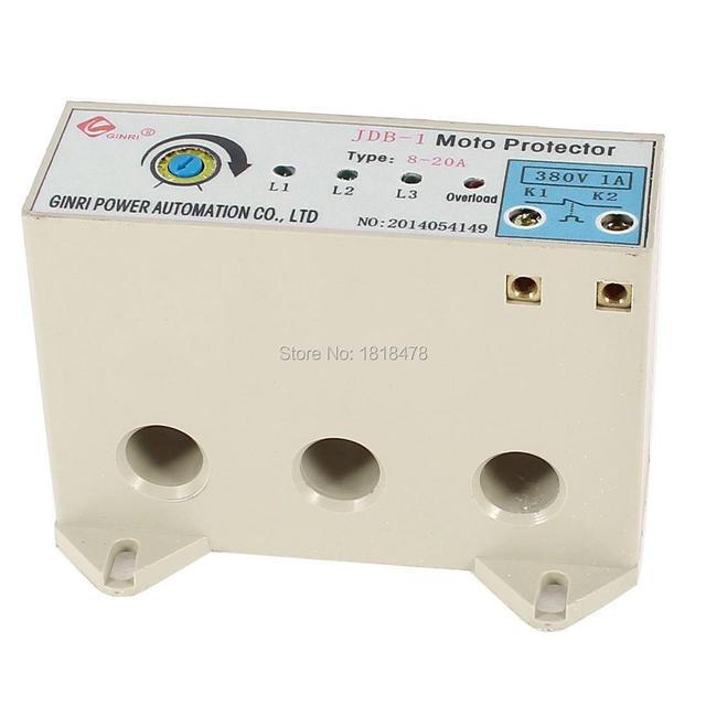 JDB 1 3 Phase 8 20 Ampere Einstellbare Strom Motor Schaltung Schutz ...