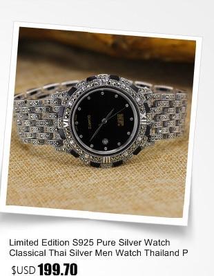 Nova edição limitada clássico s925 prata pura
