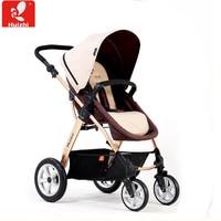 Детские коляски может сидеть и лежать с высоким пейзаж перевозки складной четыре колеса