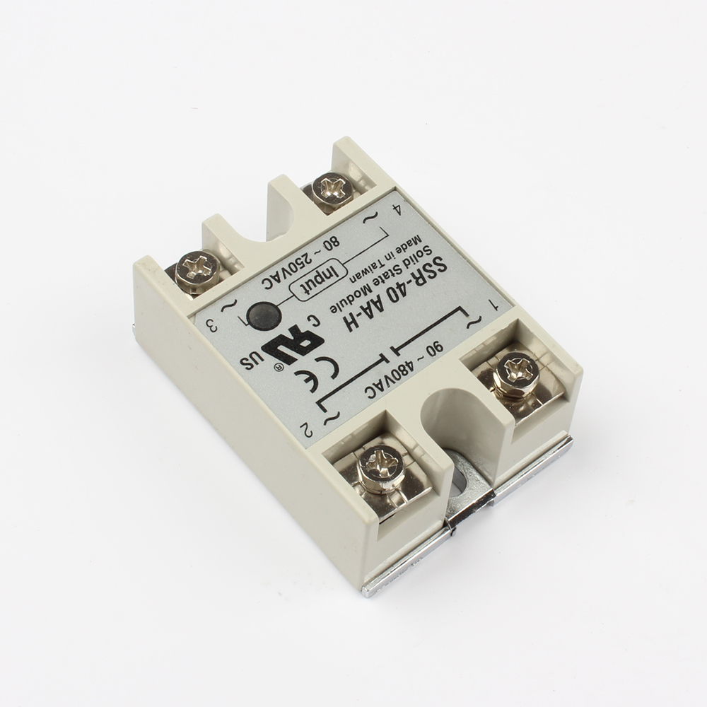 Dmwd Solid State Relay Ssr 40aa H 40a Actually 80 250v Ac To 90 480v Wiring Diagram Resistance Regulator In Relays From Home Improvement On