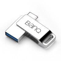 BanQ C60 Type C OTG USB 3 0 Flash Drive 32GB Pen Drive Smart Phone Memory