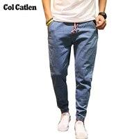 New Designer Men S Jeans Fashion Harem Pants For Male Hip Hop Loose Elastic Men Trousers