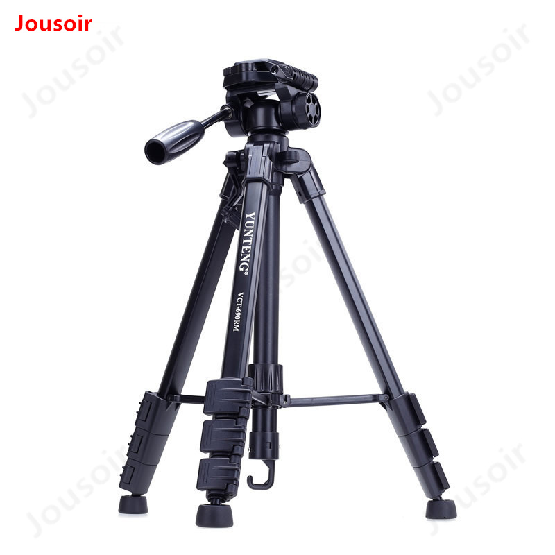 YT VCT-690RM Portable trépied micro-SLR caméra support photographie téléphone mobile caméra trépied équipement photographique CD50 T02
