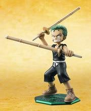 11cm ONE PIECE onepiece Roronoa Zoro Ver. PVC Action Figure Model Toys Dolls Anime Cartoon xmas gift free shipping