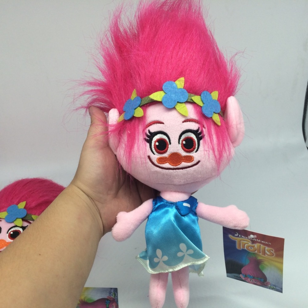 30 cm hot new movie trolls peluche papavero ramo sogno lavori