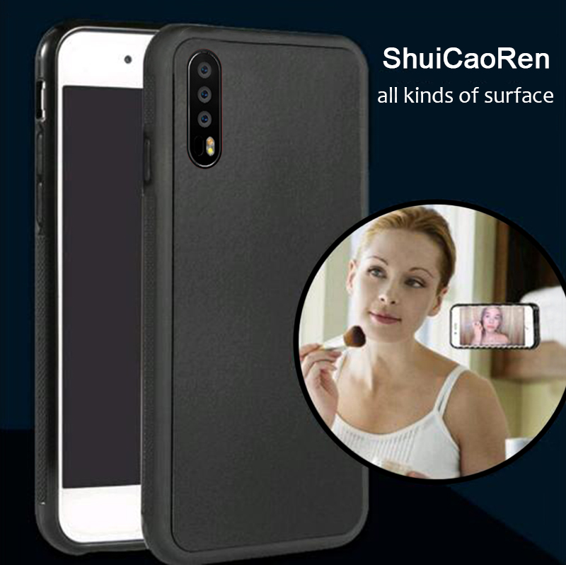 Anti Gravity Phone Case For Huawei P30 P20 Lite / NOVA 3E Back Magical Nano Suction Cover Adsorbed Case For Huawei P20 P30 Pro(China)