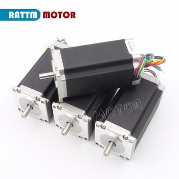 4PCS NEMA23 CNC stepper motor 112mm /425 Oz-in /3A CNC stepper motor for CNC machine image