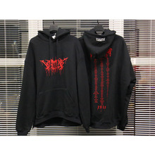 Vetements Hoodies Men Women High-quality Cotton Hoodie Red Letters Logo Fall Winter Embroidery Sweatshirts