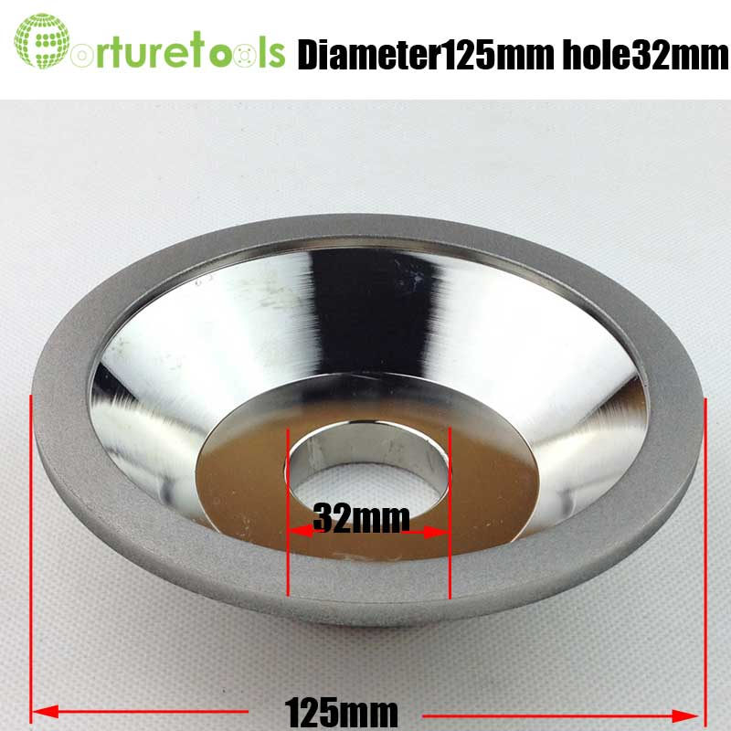 5 inch Bowl shape diamond coated grinding wheel for tungsten carbide tools sharpening and grinding D125 hole 32mm E007 z8 cree chips 60w 3200lm led car headlight 9006 hb4