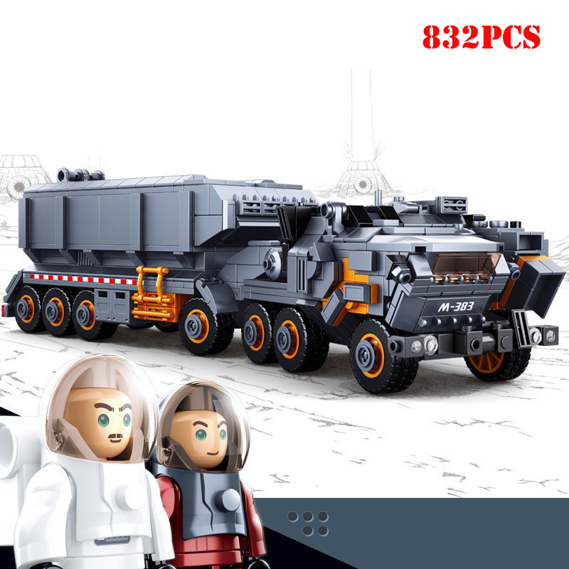 832Pcs-Heavy-Transport-Vehicle-Model-Bricks-Building-Blocks-Compatible-Legoings-Wandering-Earth-Set-Toys-For-Children (3)