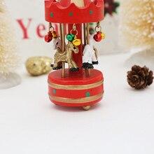 Wooden Christmas music box
