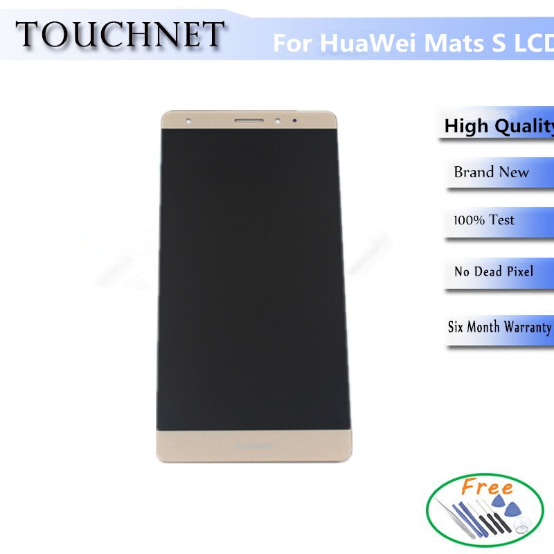 100% Warranty Replacement LCD For Huawei Mate S Lcd Display With Touch Screen Digitizer Assembly
