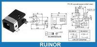 300pcs SMT 3 5mm X 1 3mm DC Socket Jack SMD PCB Charger Power Plug Soldering